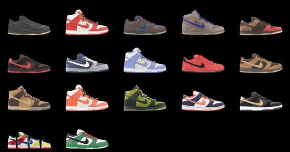 Modele Nike Dunk SB z 2003 roku