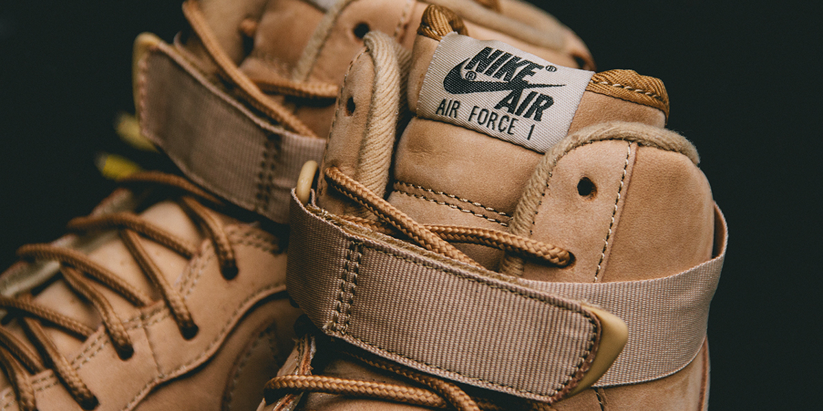 buty nike air force 1 high '07 lv8 flax