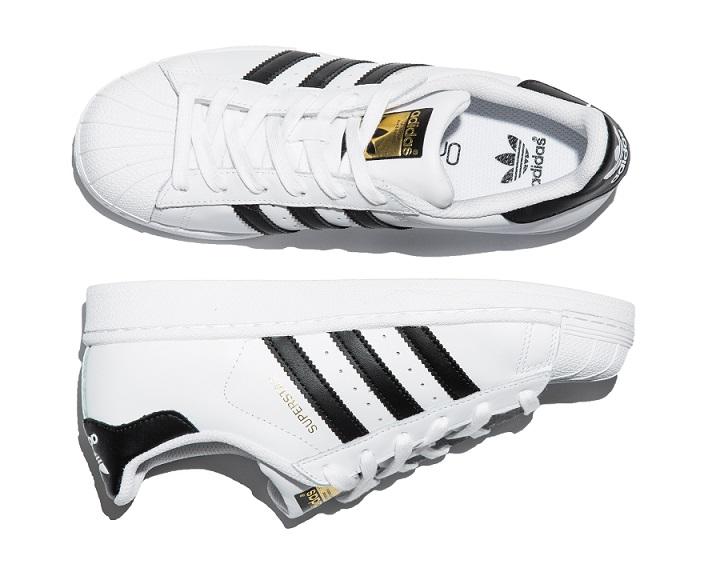 białe adidas Superstar
