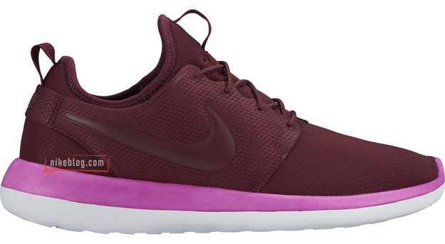 Nike Roshe Two SE bordowe
