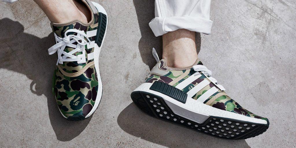 adidas Originals x BAPE, czyli nowe kolorystyki dla NMD