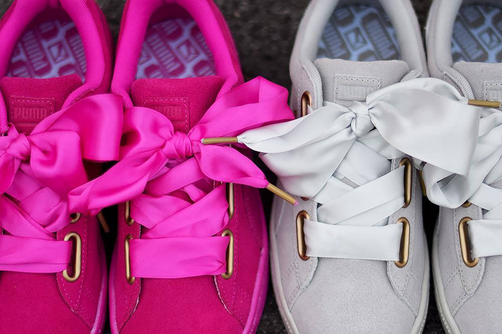 buty puma damskie wstazka