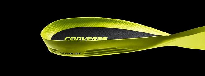 Nowa wkładka Lunarlon w butach Converse zapewniająca doskonałą amortyzację
