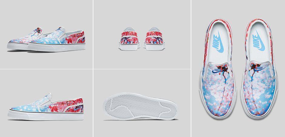 Nike Toki Slip-On Cherry Blossom