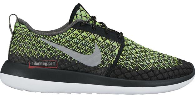 Nike Roshe Two Flyknit zielone
