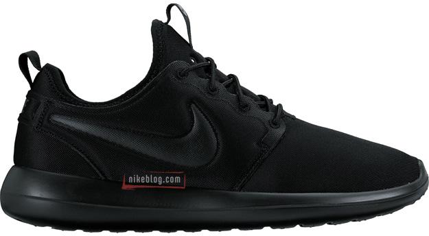 Nike Roshe Two monochromatyczne czarne