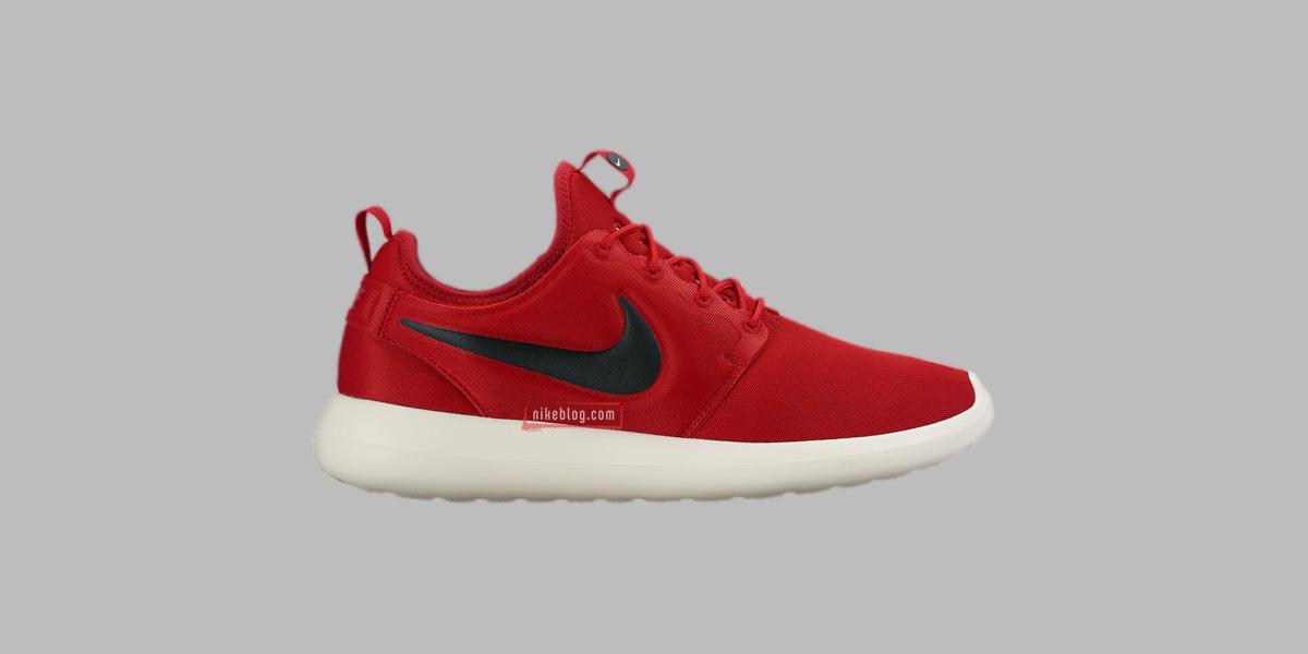 Czerwone Nike Roshe Two