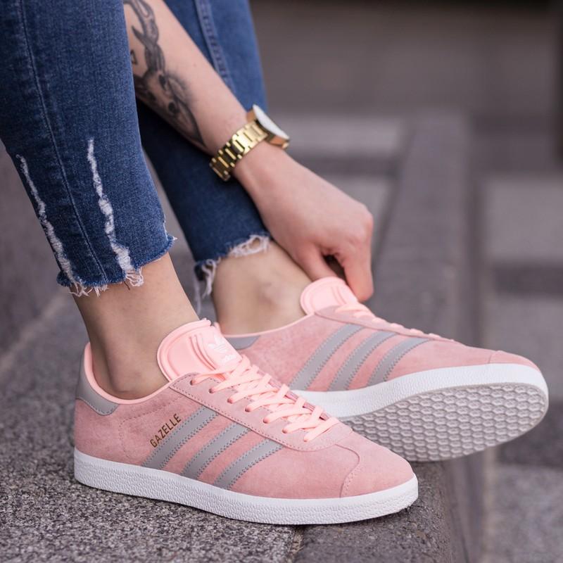 adidas gazelle różowe